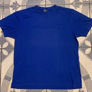 Vintage Polo Ralph Lauren Embroidered Logo Tee L